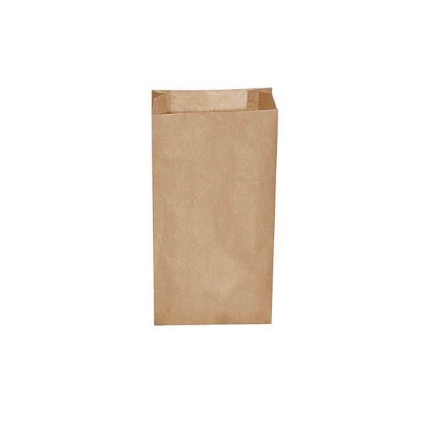 Papierové vrecko   hnedé   15x6x28cm   500 ks