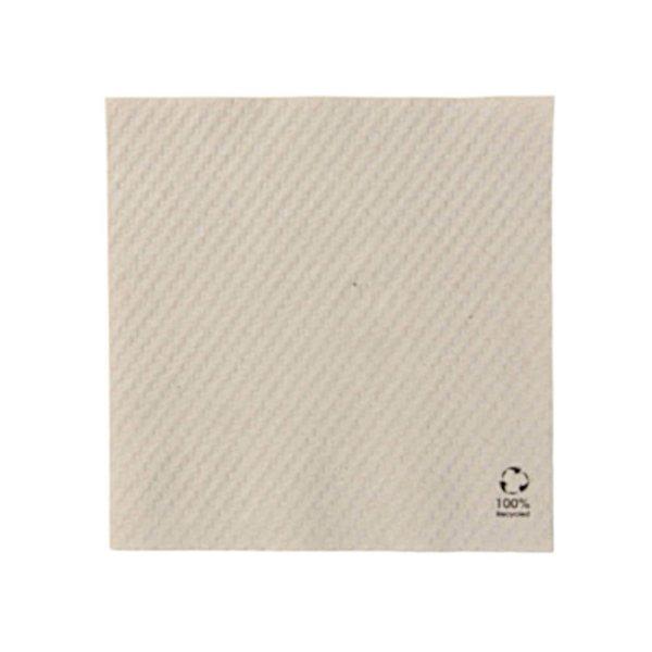 Papierové servítky | nebielené | 33x33cm | 1-vrstvové | 100 ks