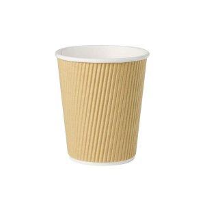 EKO papierový hnedý pohár na teplé nápoje