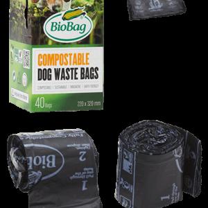 Kompostovateľné kakacie vrecká pre psíkov
